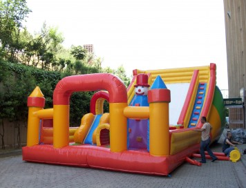 Şişme Oyun Parkı 6x4x2.5m
