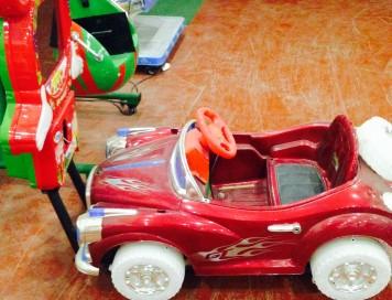 Araba Yarışı Ekranlı Kiddie Rides