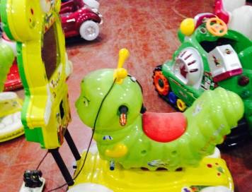 Tırtıl Ekranlı Kiddie Rides