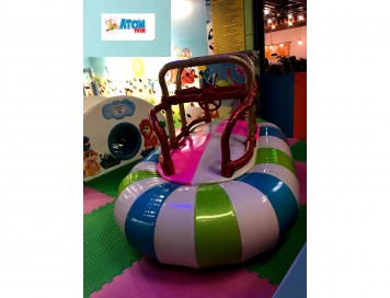 Soft Play Sallanan Şişme Bot Elektronik