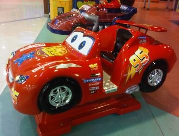McQueen Araba Kiddie Rides