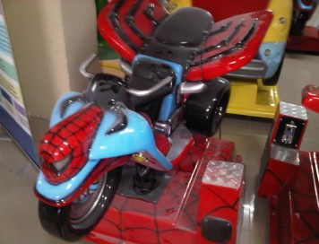 Spider Man Motor Kiddie Rides