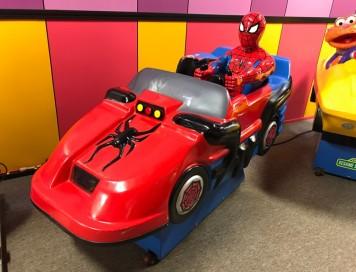 Spider Man Kiddie Rides