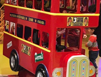 London Bus Kiddie Rides