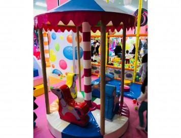 Soft Play Kapalı Carousel