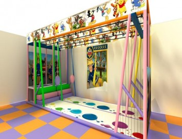 Zipline Soft Play Kızak